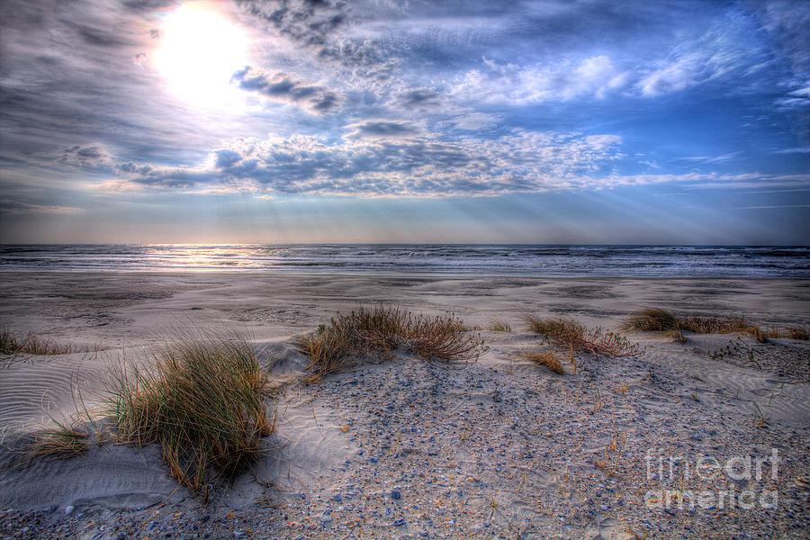 North Carolina Photograph - Ocracoke Winter Dunes II by Dan Carmichael