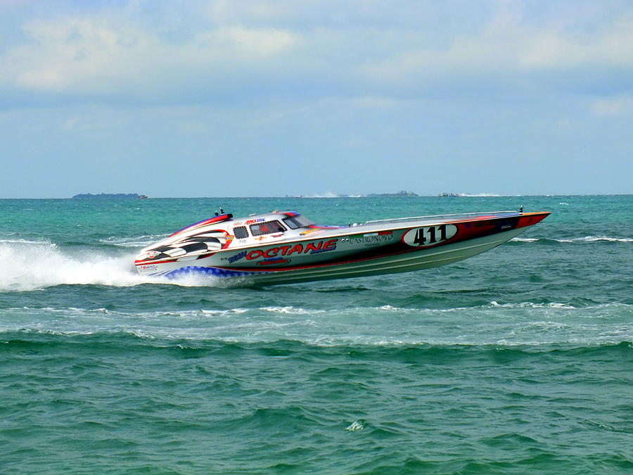 Boat Races Photograph - Octane by Karen Wiles