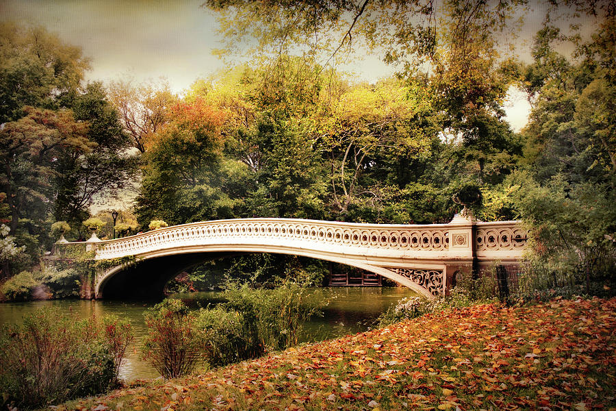 October At Bow Bridge Photograph
