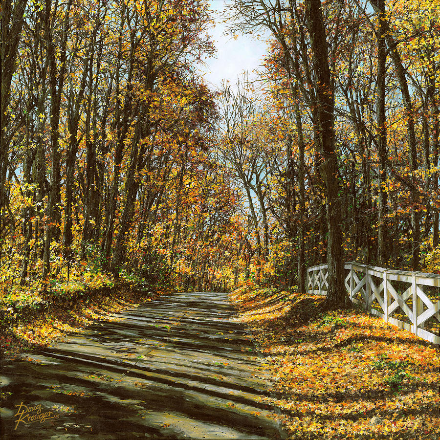 October Backroad by Doug Kreuger