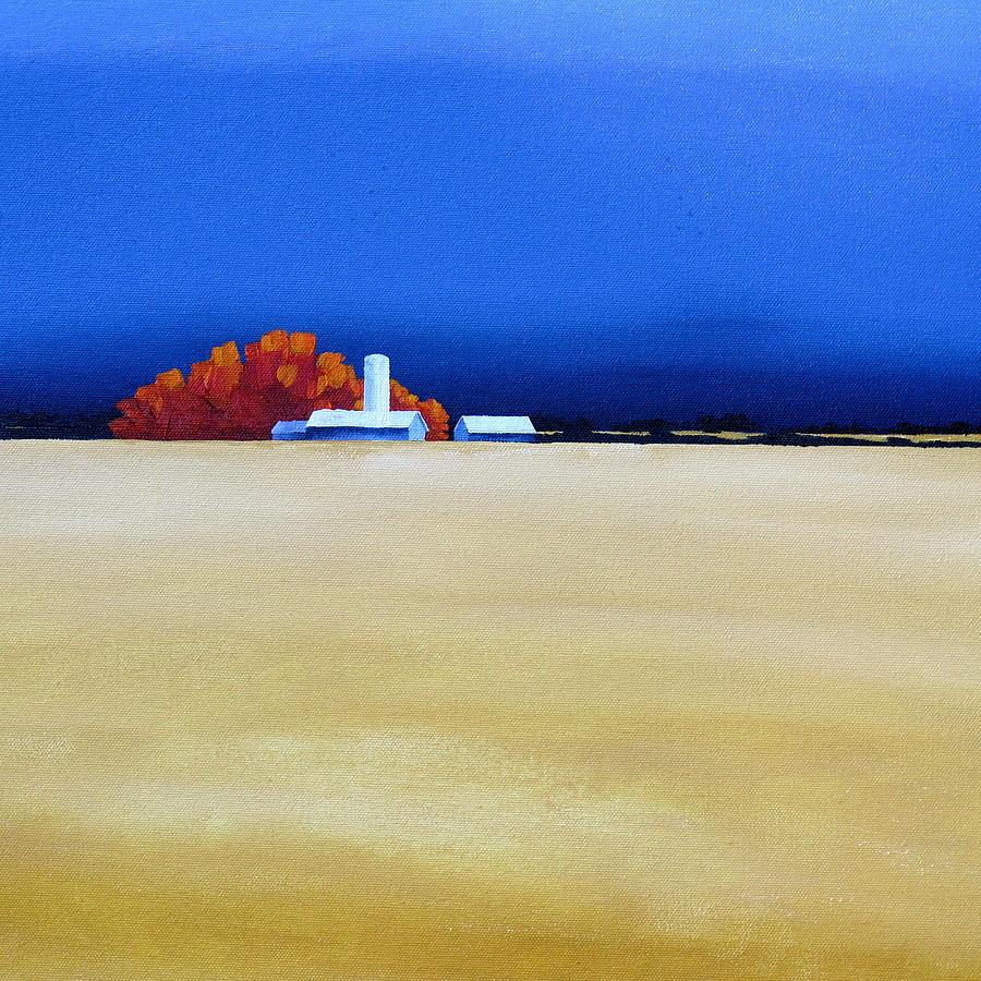 October Fields by Jo Appleby