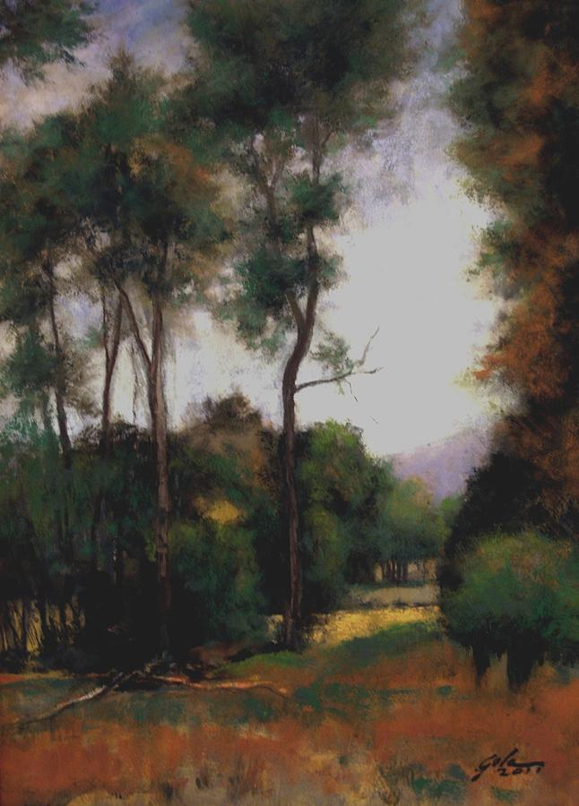 Landscapes Painting - October by Jim Gola