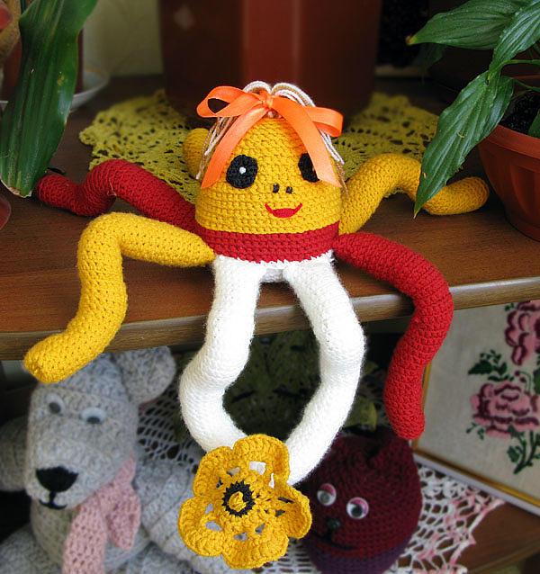 Octopus Sculpture - Octopus by Olena Kulyk
