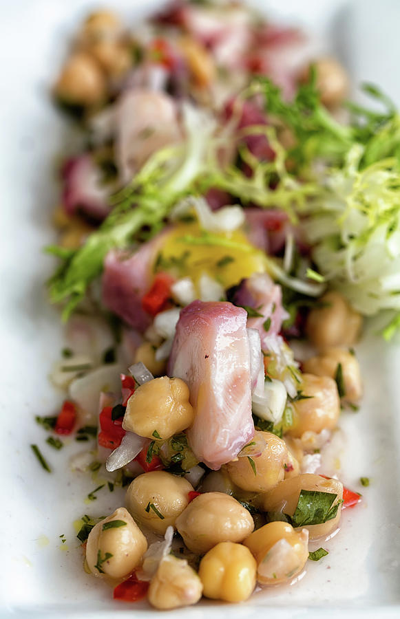 5ds Photograph - Octopus Salad  by John Hoey