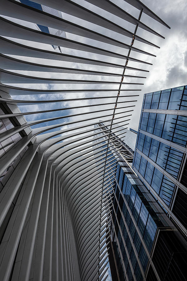 Architecture Photograph - Oculus Center And High Rise by Robert Ullmann