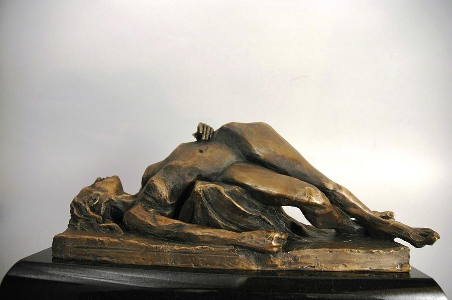 Figurative Sculpture - Odalisque II by David Varnau