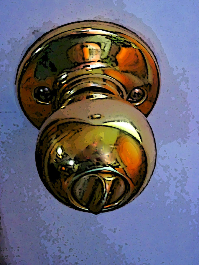Ode To A Doorknob Photograph by Guy Ricketts