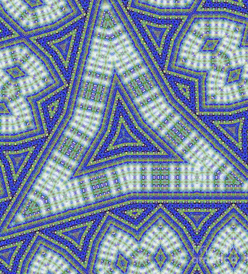 Optical Illusions Digital Art - Ode To Kadinsky by Raven Deem
