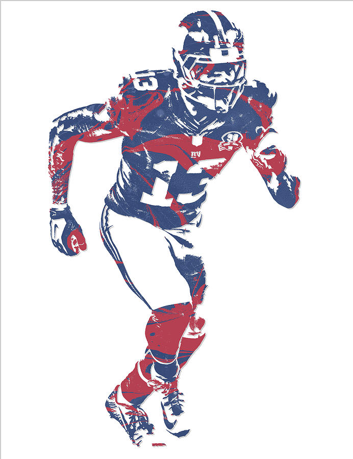 huge discount 9ee73 50156 Odell Beckham Jr New York Giants Pixel Art 15