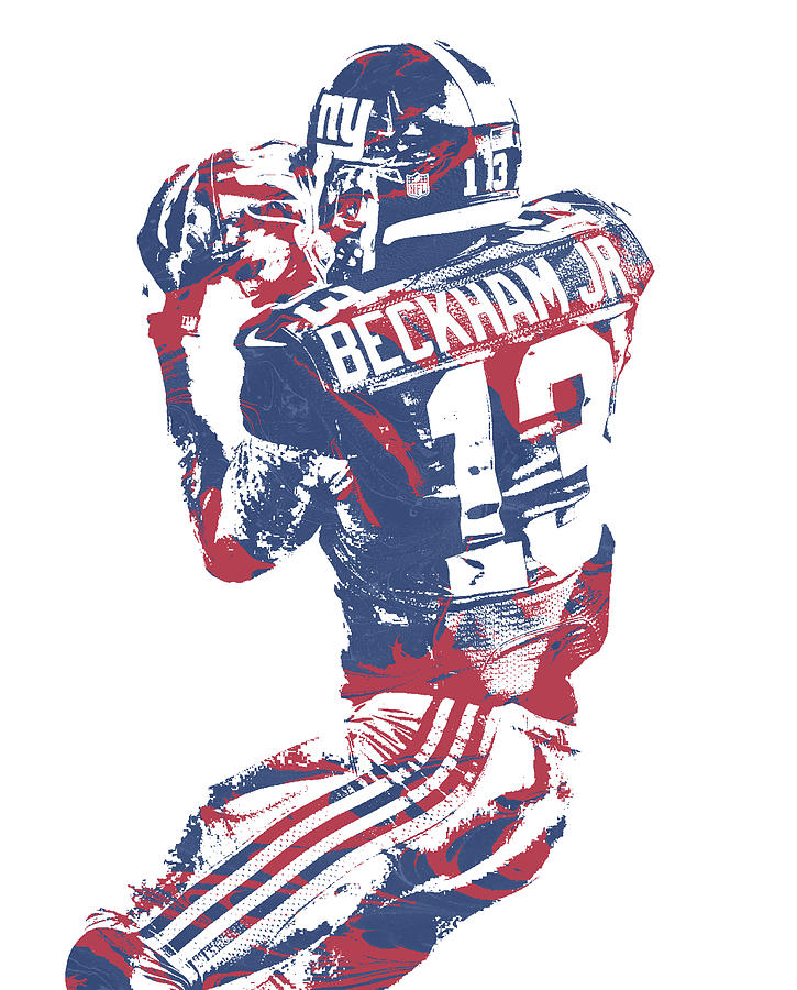 reputable site f6b96 57036 Odell Beckham Jr New York Giants Pixel Art 40