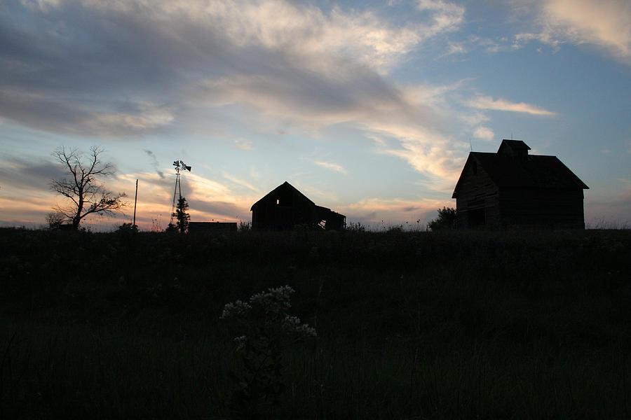 Abandon Photograph - Odell Dusk by Dylan Punke