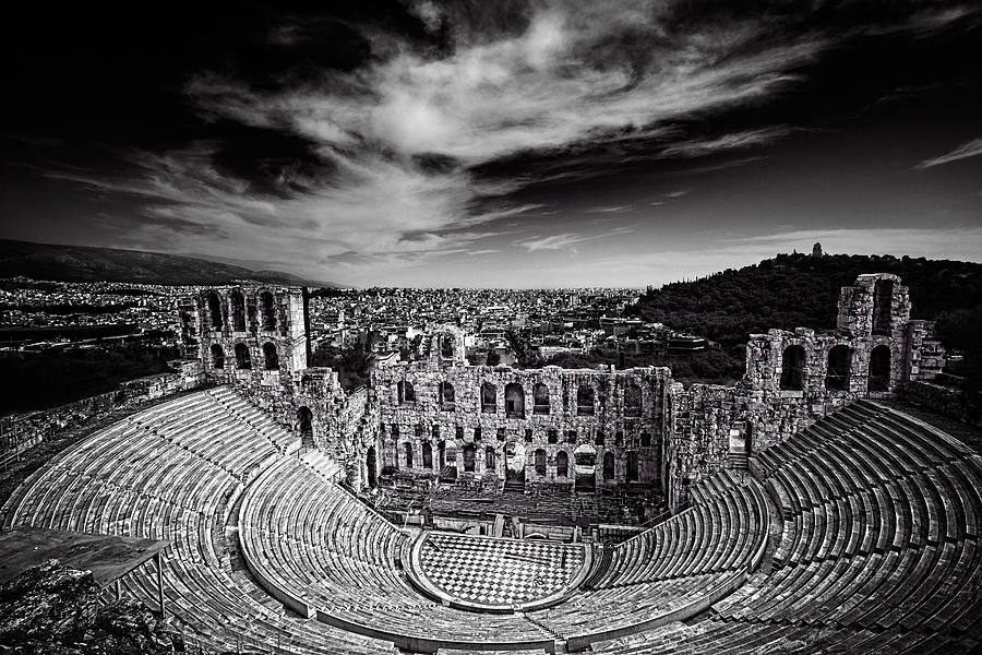 Odeon of Herodes Atticus by Ian Good