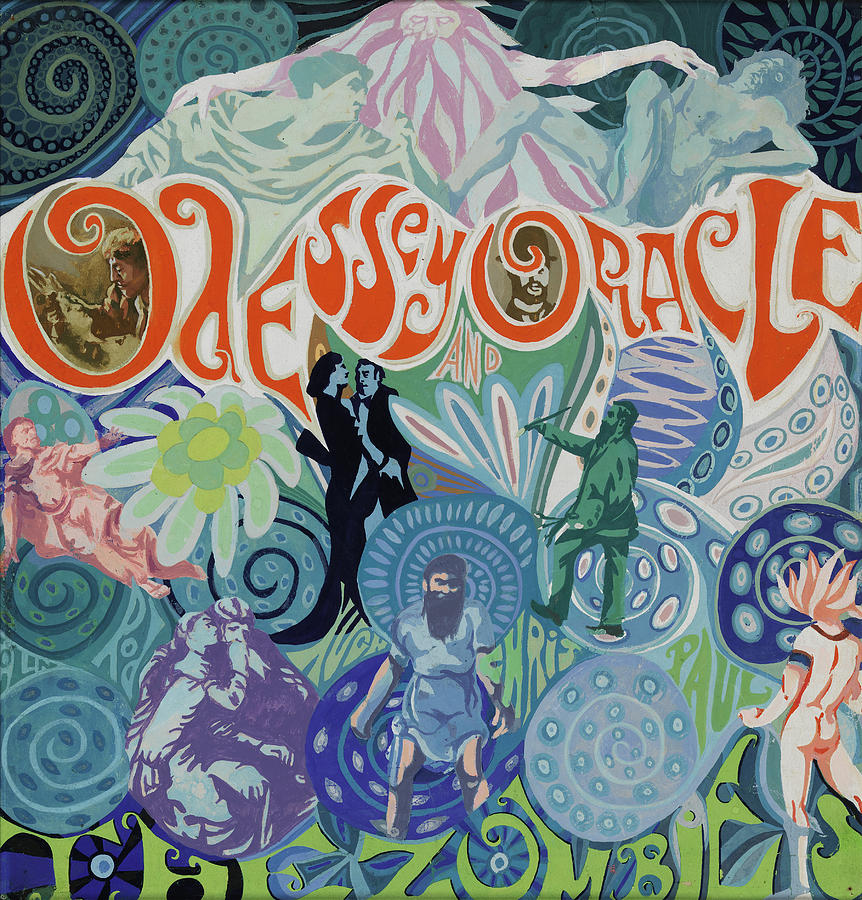 The Zombies Digital Art - Odessey and Oracle - Album Cover Artwork by The Zombies Official