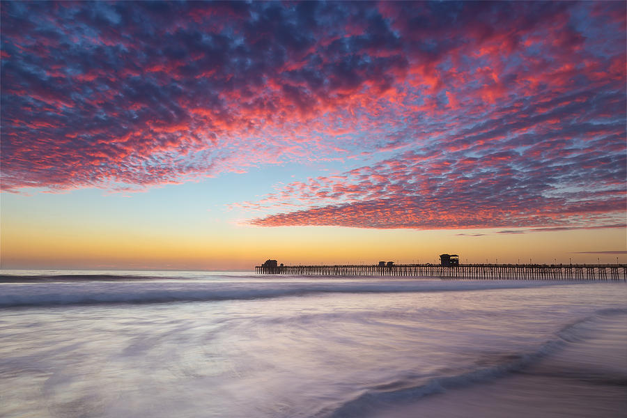 Beach Photograph - Of Milk Shakes And Cotton Candy by Peter Tellone