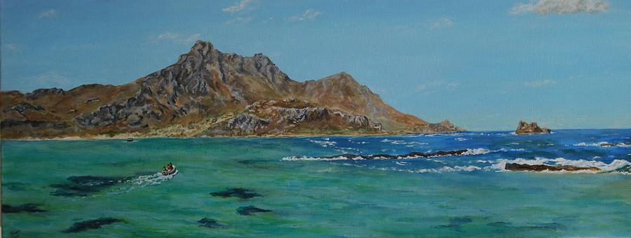Off Balos - Crete by David Capon