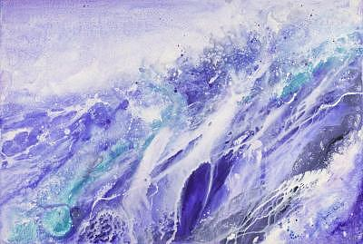 Off Shore Painting - Off Shore by Bonnie Carter