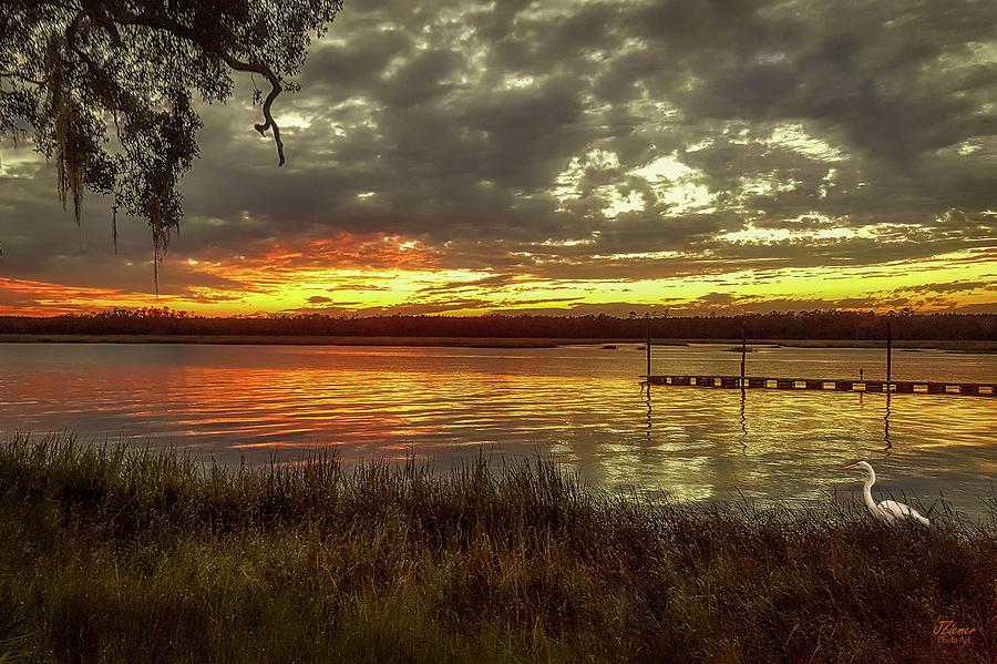 Sunset Photograph - Ogi Sunset by Jim Ziemer