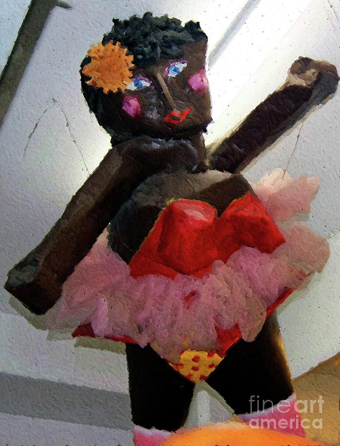 Paper Mache Photograph - Oh Baby by Debbi Granruth