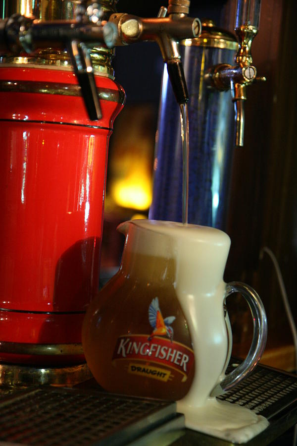 Tap Beer Photograph - Oh Beer My Dear by Deepak Pawar