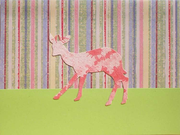 Oh Deer 4 Mixed Media by Marianne Devine
