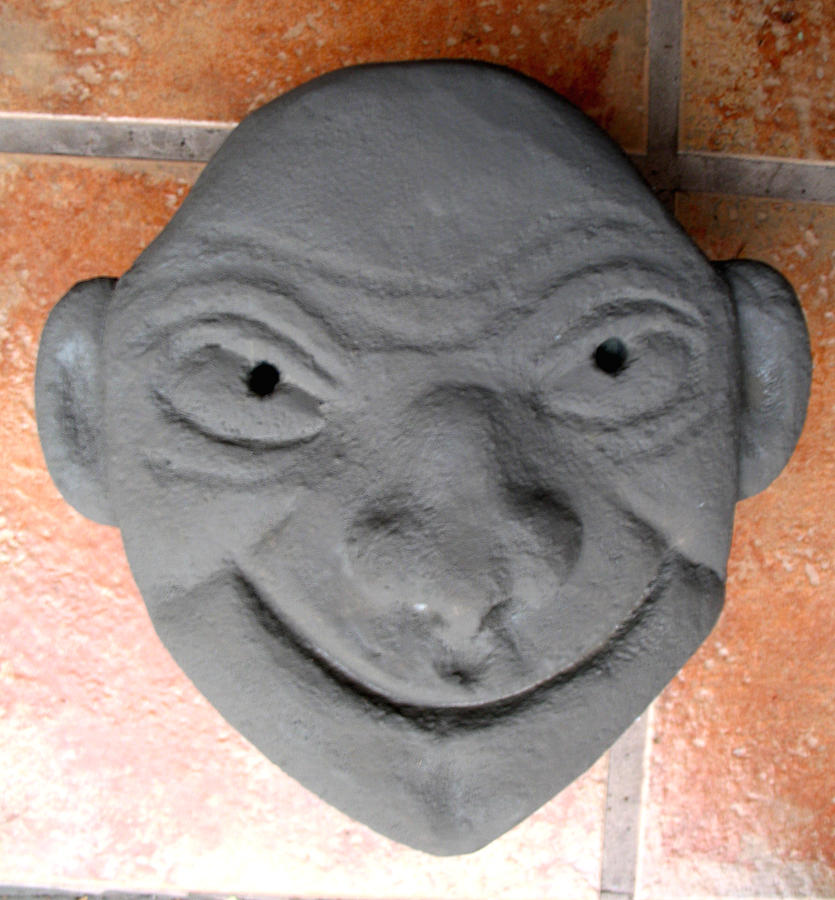 Face Sculpture - Oh Happy Day by Bill Meeker