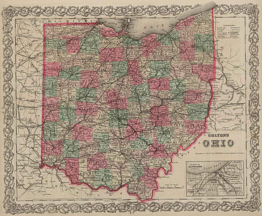 Ohio Painting - Ohio by Colton