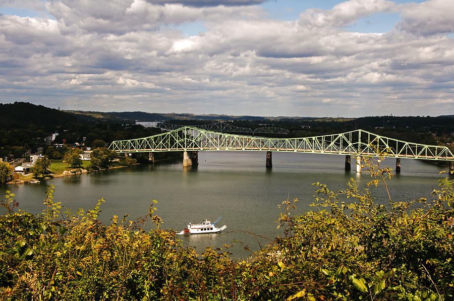 Ohio River View Photograph
