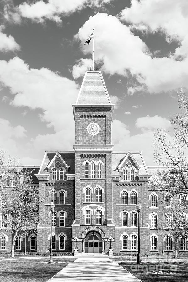 Columbus Photograph - Ohio State University Hall by University Icons