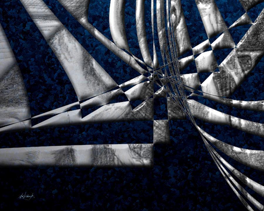 Digital Digital Art - Oil In The Gulf 03 by William Hutchison