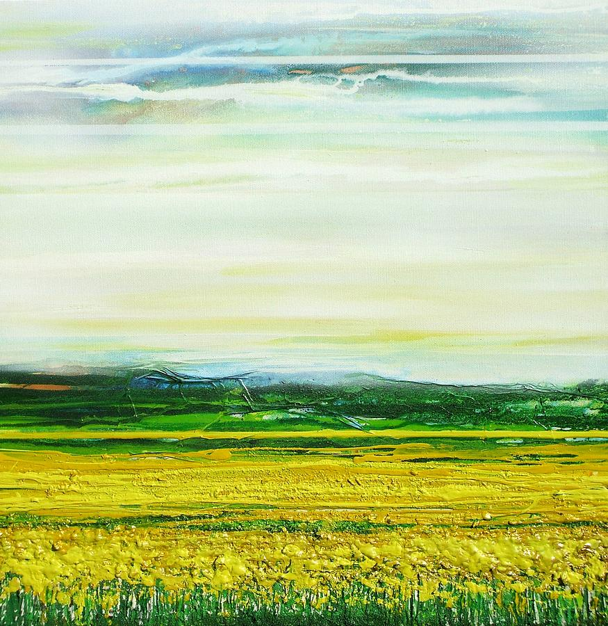 Oil Seed Rape Tyndale No3 Mixed Media by Mike   Bell