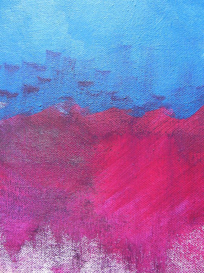 Ocean Painting - Oil Wave by Lindie Racz
