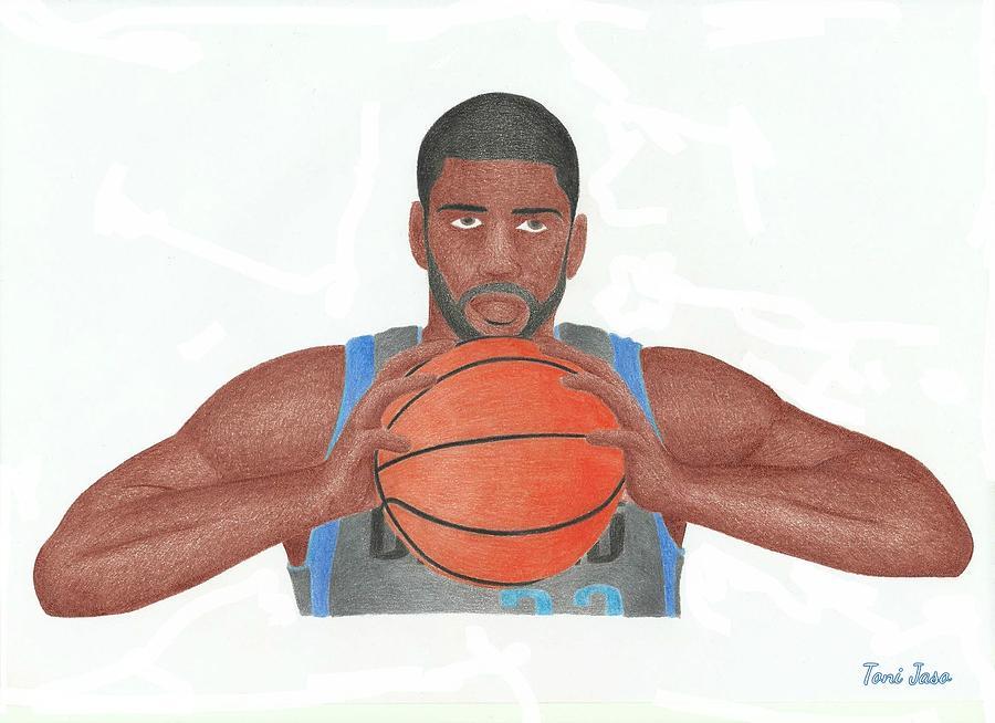 Basketball Drawing - O.j Mayo by Toni Jaso
