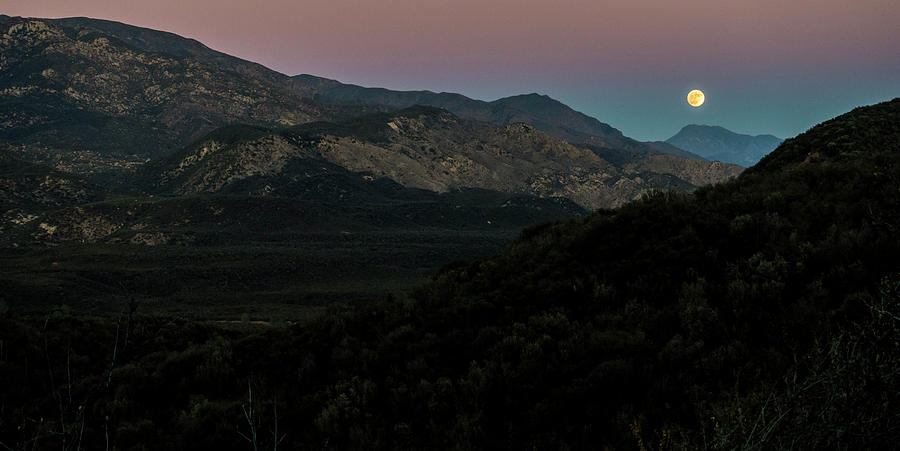 Big Photograph - Ojai Supermoon by Bryan Toro