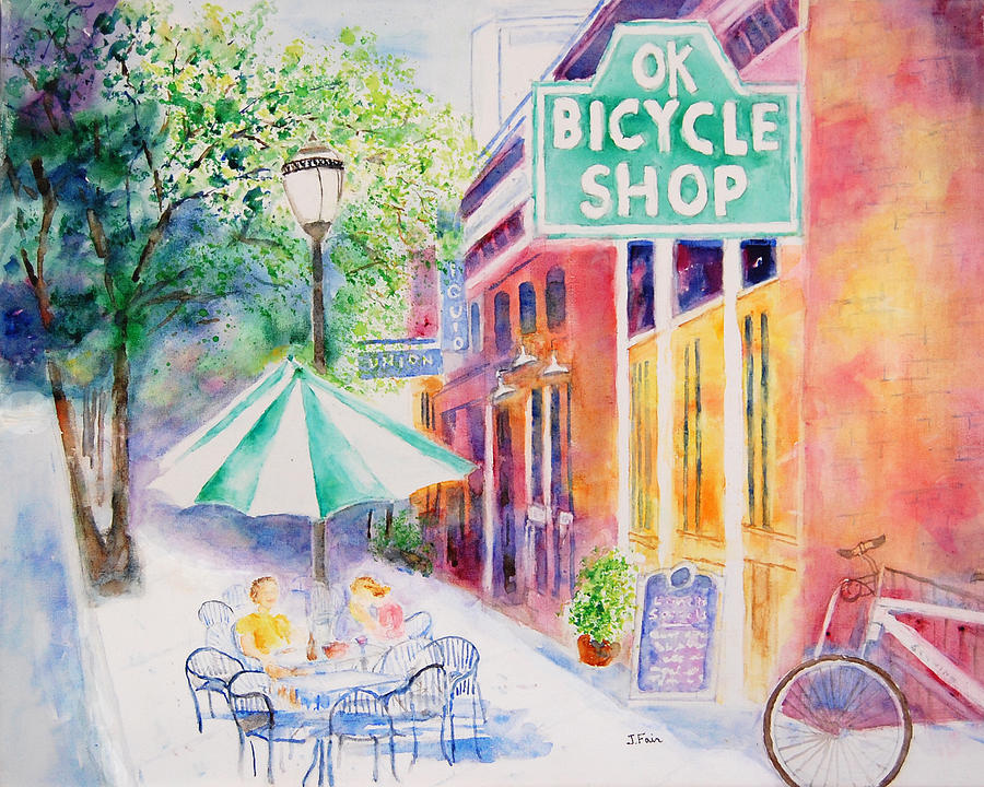 OK Bicycle Shop by Jerry Fair