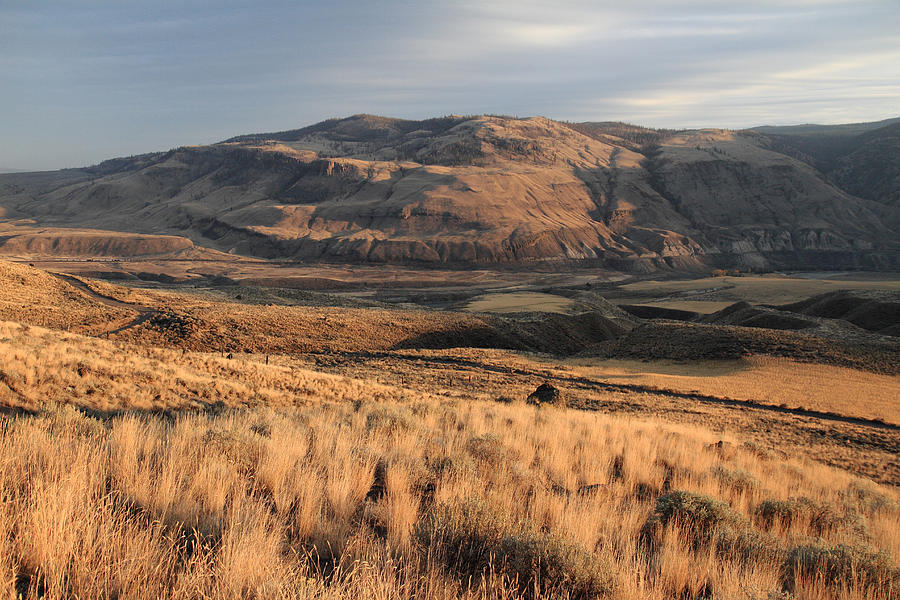 Okanagan Photograph - Okanagan Valley Sunset Glow by Pierre Leclerc Photography