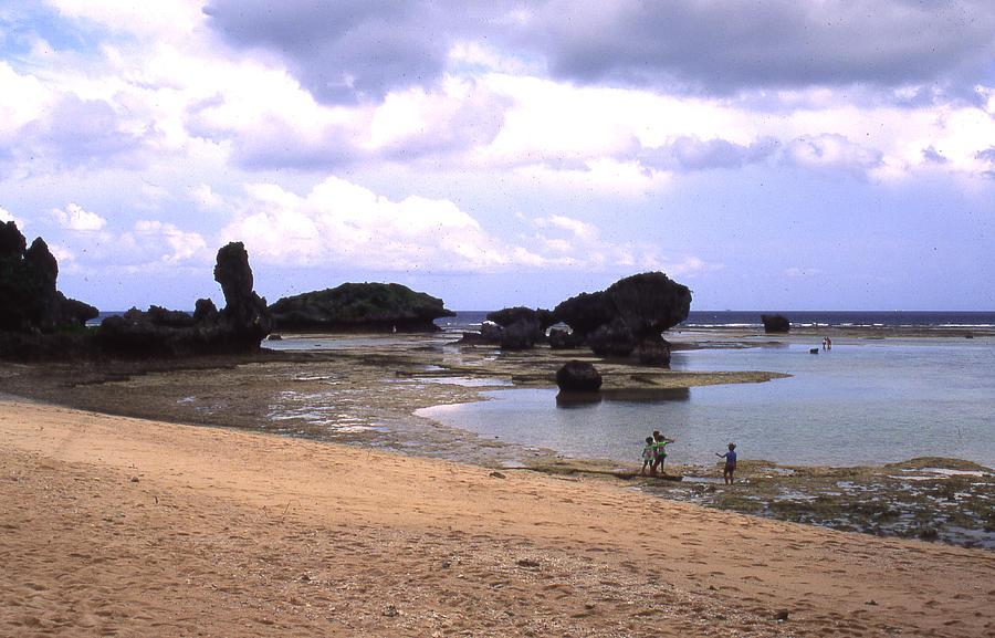 Okinawa Photograph - Okinawa Beach 18 by Curtis J Neeley Jr