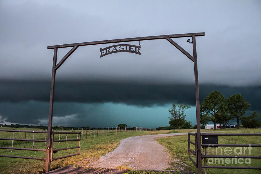 Ranch Photograph - Oklahoma Ranch by Francis Lavigne-Theriault