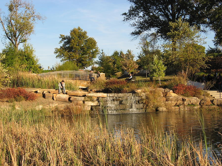 Oklahoma's Central Park by Roberta Martin