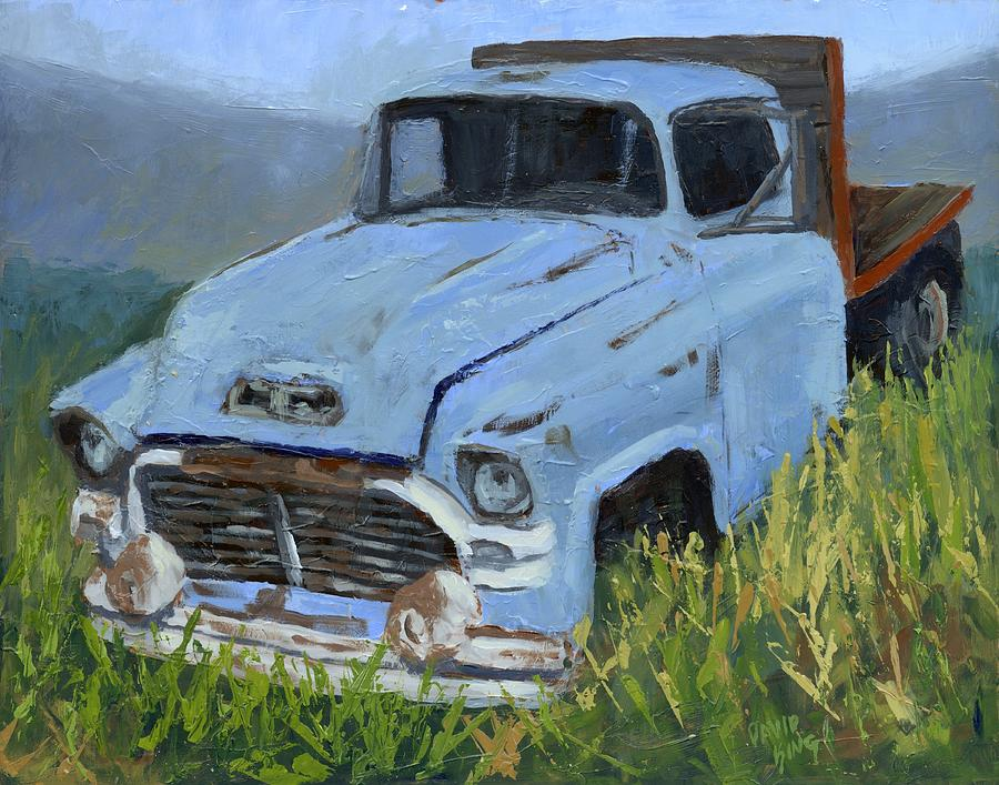 Automotive Painting - Ol Blue by David King