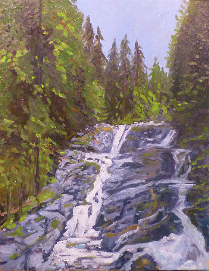 Olallie Park Falls by Stan Chraminski