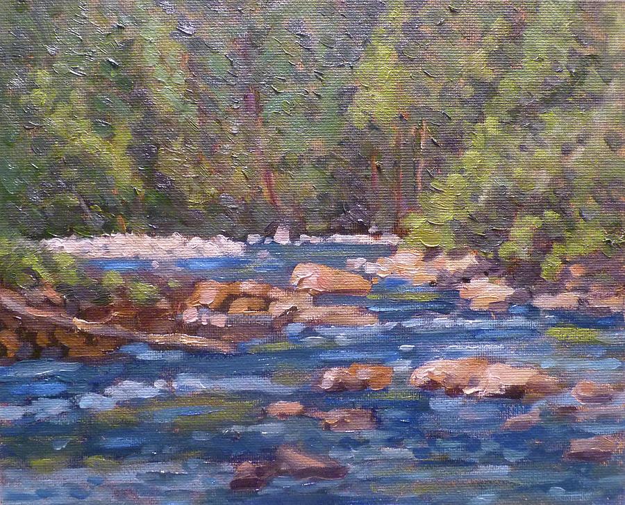Olallie Park River by Stan Chraminski
