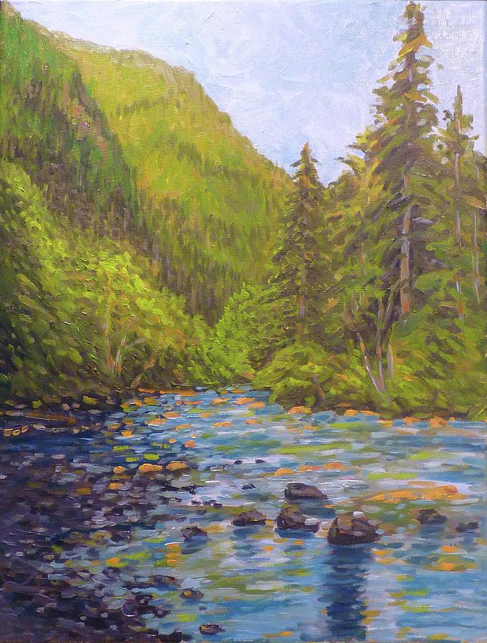 Olallie River Scene by Stan Chraminski