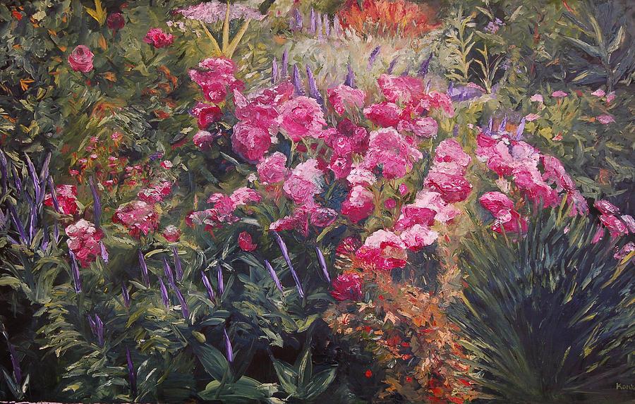 Lisa Painting - Olbrich Garden Series -  Garden 1    by Lisa Konkol