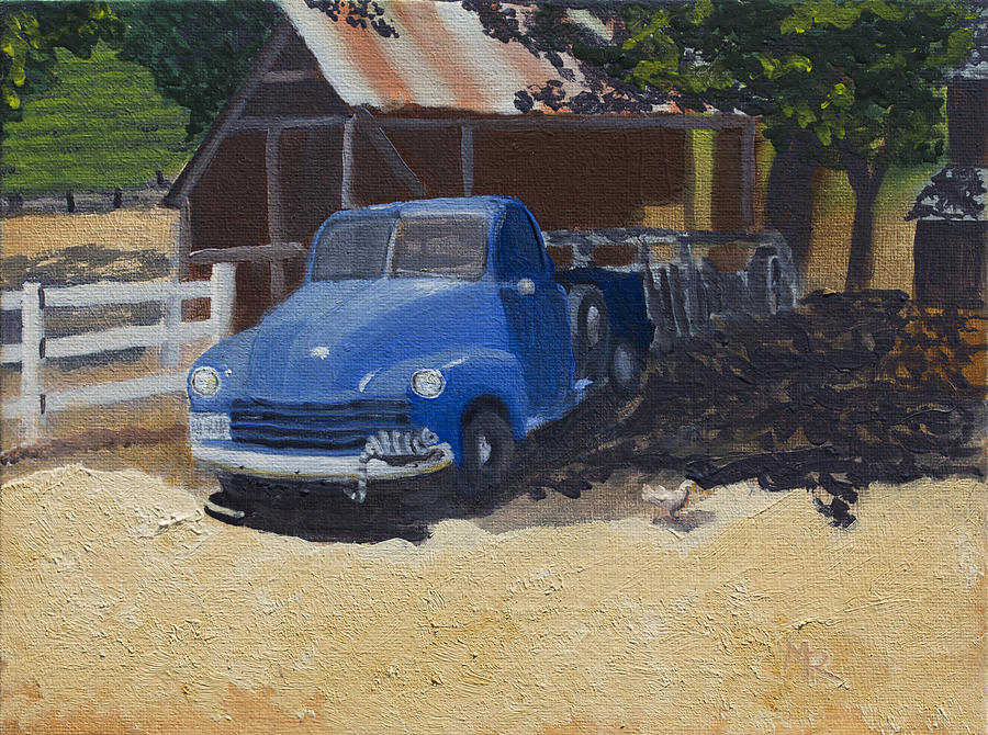 Old '53 Chevy Truck by Mike Robles