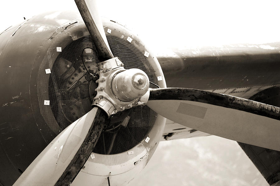 Old Aircraft Propeller by Jackie Farnsworth