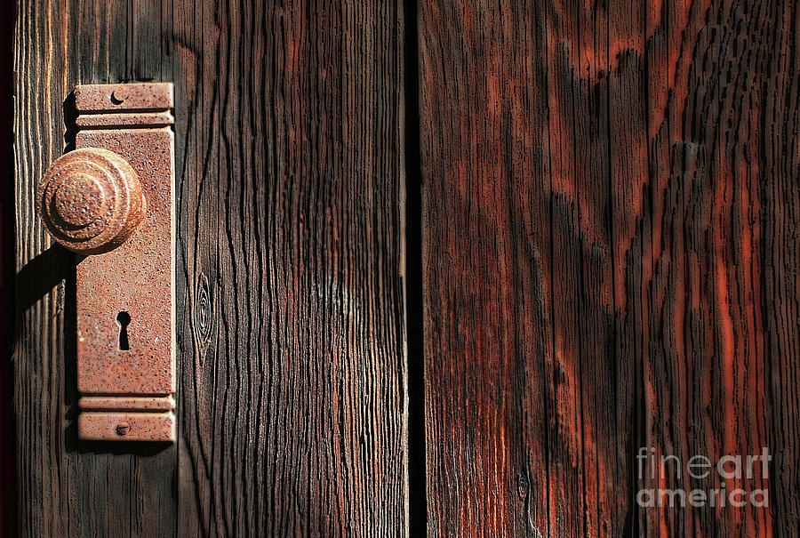 Old Amboy Grange Door  by Rich Collins
