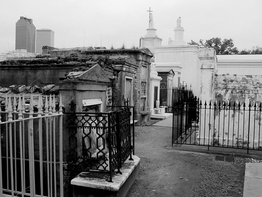 New Orleans Photograph - Old And New by Linda Kish