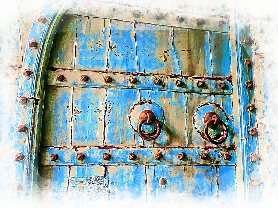 2c1c71283689 Old Antique Door Shopping Bazaar India Rajasthan Jaipur 2d ...