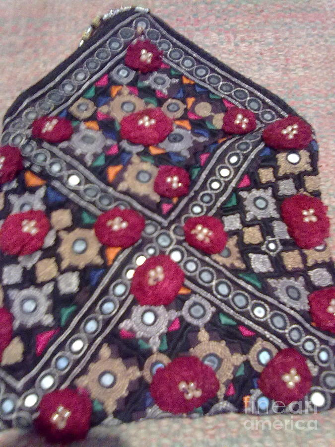Old Bags Tapestry - Textile by Dinesh Rathi