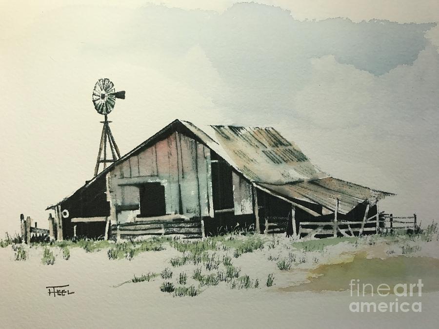 Old Barn by Harold Teel